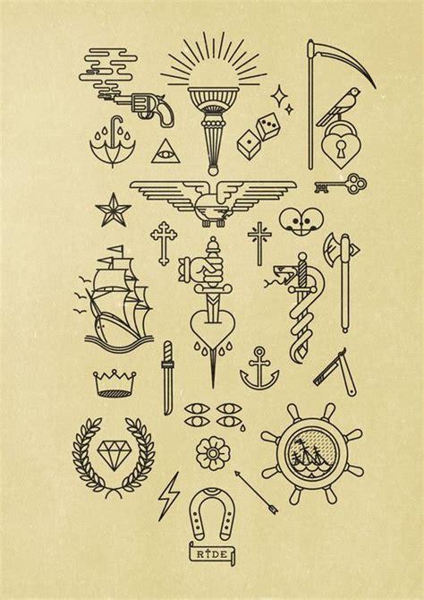 small old school tattoos 25 best filler ideas on