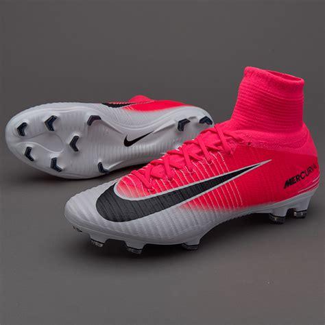 Sepatu Bola Nike Mercurial Pink Hitam List Stabilo Grade Ori sepatu bola nike original mercurial superfly v fg race pink black white