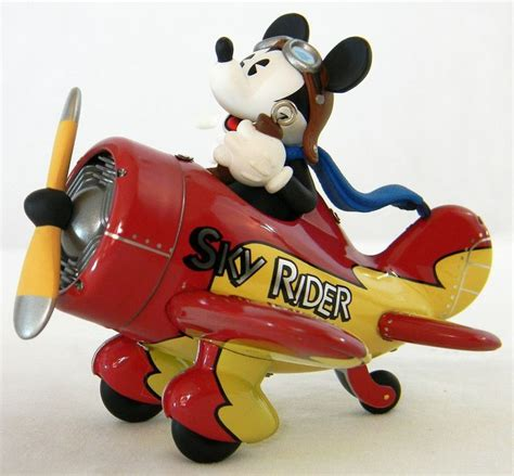 hallmark disney mickeys sky rider keepsake ornament 2000