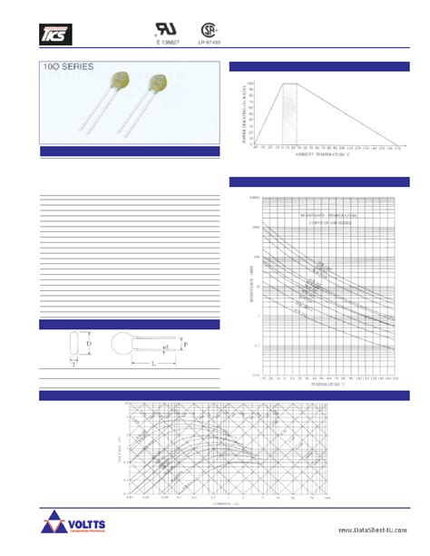 ntc thermistor sck 103 datasheet datasheet sck 103 ntc power thermistor 1 page voltts datasheet pdf