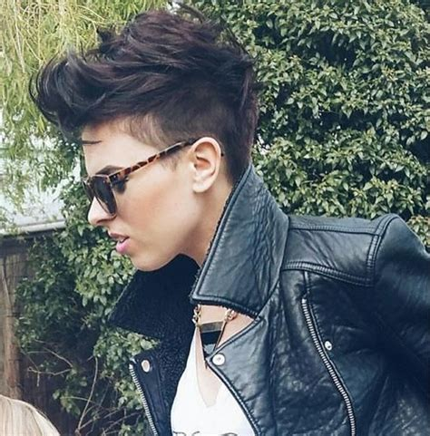 how do u cut shaved sides haircut 17 best ideas about shaved sides pixie on pinterest