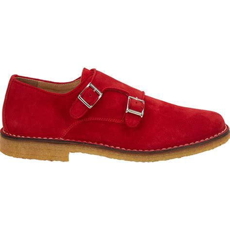 New Shoes From Barneys by Barneys New York S Suede Monk Shoes In For
