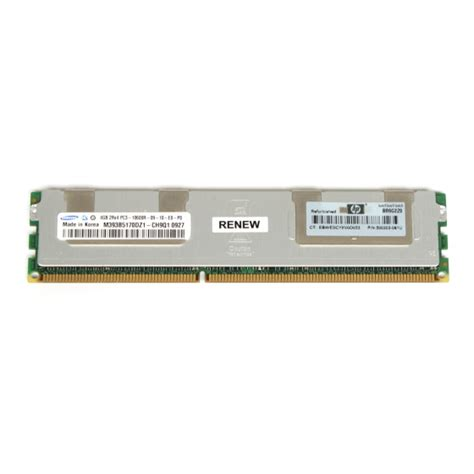 Ram Hp Samsung hp samsung 4gb arbeitsspeicher ram nur f 252 r server dl360