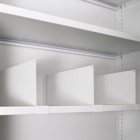 armadio profondità 45 separatore in metallo per armadio con profondit 224 45 h