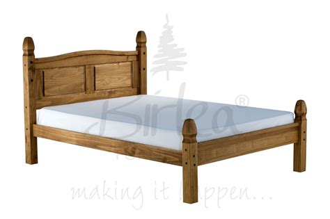 Corona Bed Frame Birlea Corona Bed Frame Low Foot End
