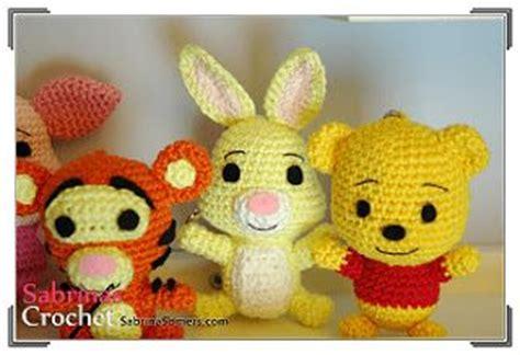 Mini Character Pooh Tiger Eeyore Diskon amigurumi winnie the pooh piglet eeyore and tigger
