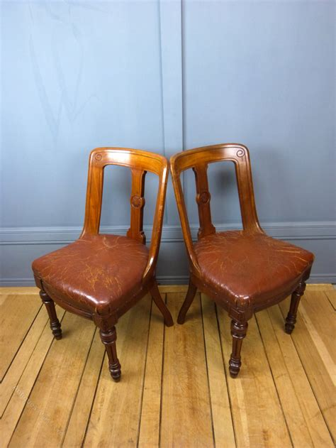 six aesthetic period dining chairs antiques atlas