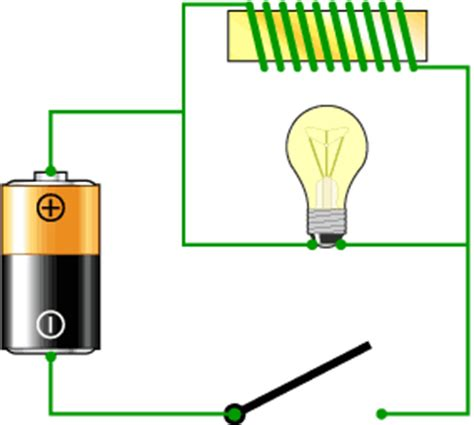 inductor bulb circuit working of an inductor electronic circuits and diagram electronics projects and design
