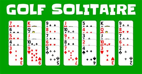 golf solitaire play it online