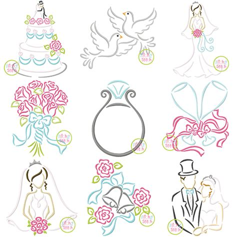 embroidery wedding wedding embroidery set the itch 2 stitch
