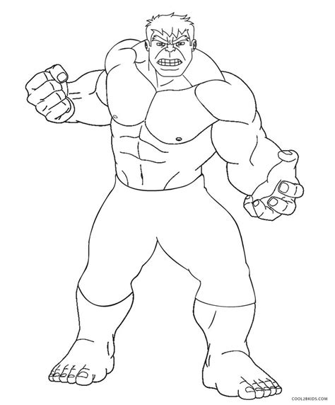 coloring page incredible hulk free printable hulk coloring pages for kids cool2bkids