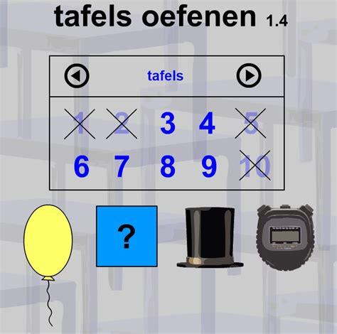 tafels oefenen 6 jufyvon week van de tafels tafels oefenen online