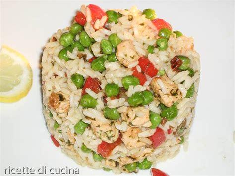 cucinare riso thai insalata di riso thai con pollo e peperoni ricette di cucina
