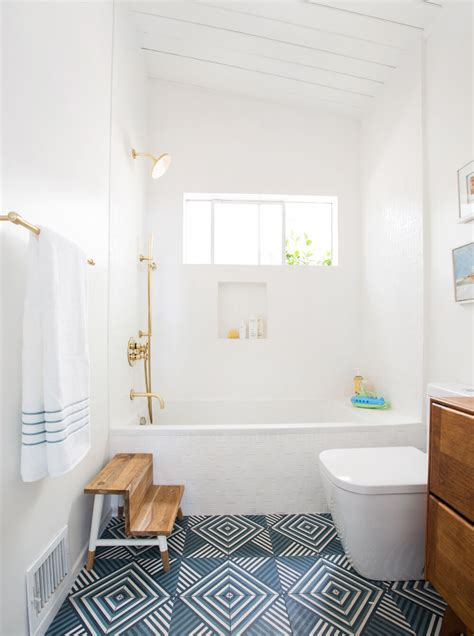 guest bathroom designs guest bathroom reveal shop the look emily henderson