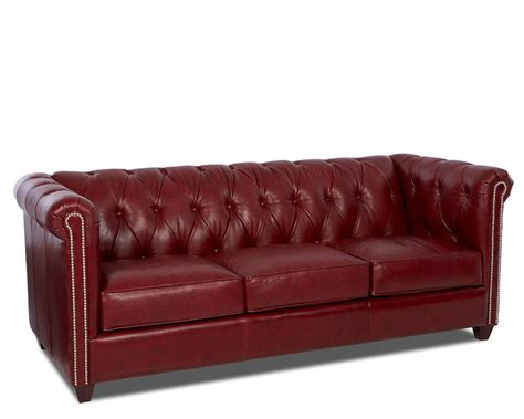 Dominion Tufted Leather Sofa Comfort Design Dominion Tufted Sofa Leather