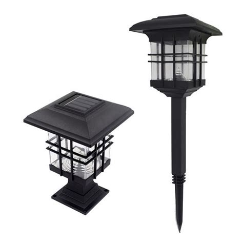 china solar post lights outdoor fence deck caps light