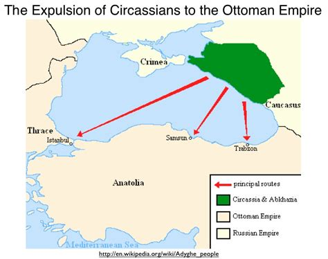 significance of ottoman empire the politics of genocide claims and the circassian
