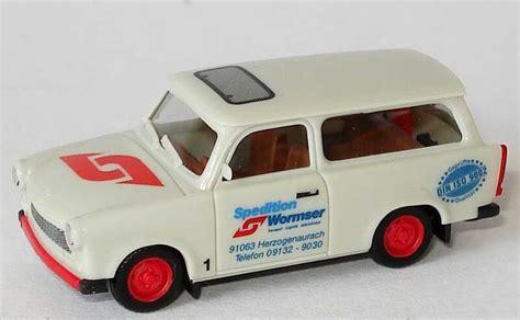 Auto Wormser by 1 87 Trabant 601s Universal Spedition Wormser Herpa 047555