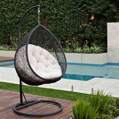 milan direct pe rattan hanging egg pod chair reviews