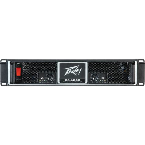 Power Lifier Peavey Cs4000 peavey cs4000 professional power lifier 2ru 00511100 b h