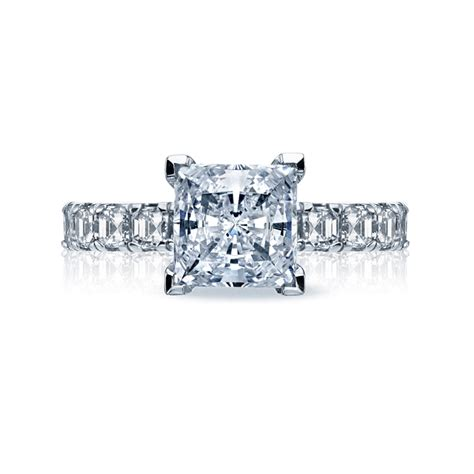 tacori style 32 3pr75 princess cut engagement