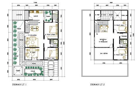 plan rumah home design interior ideas modern agustus 2011