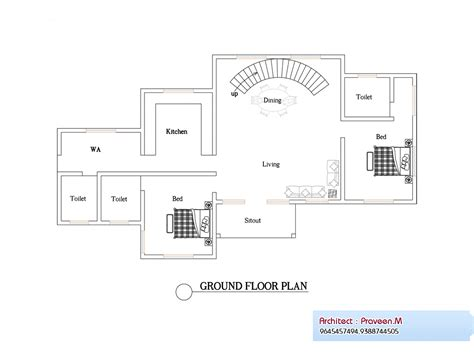 kerala home design plan and elevation 2906 square feet 4bhk kerala home design plan and