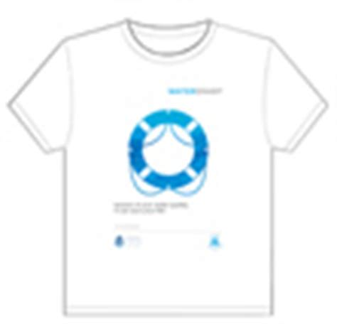 t shirt transfer template water smart caign international decade for
