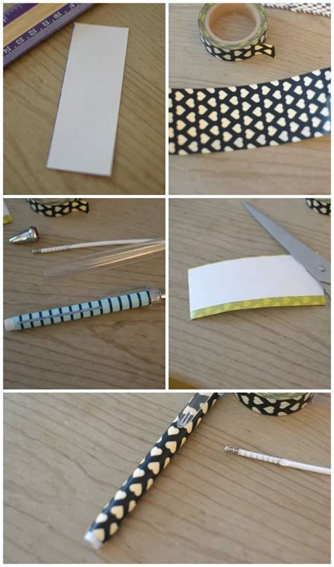 How To Make Your Own Pen And Paper Rpg - diy custom washi pens