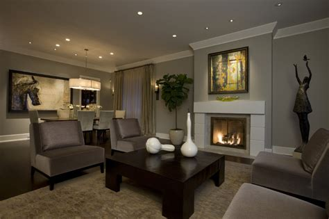houzz living rooms honore transitional living room dining room