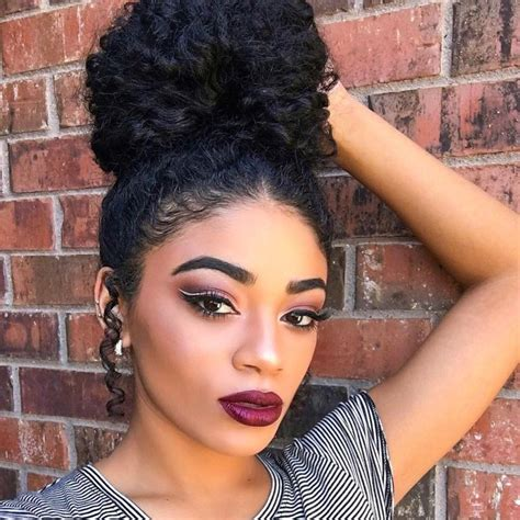 black hair style barrel curl ponytails 1000 ideas about curly ponytail on pinterest ponytail