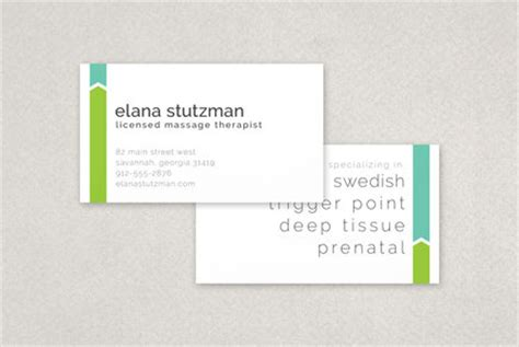therapist business card templates therapist business card template inkd
