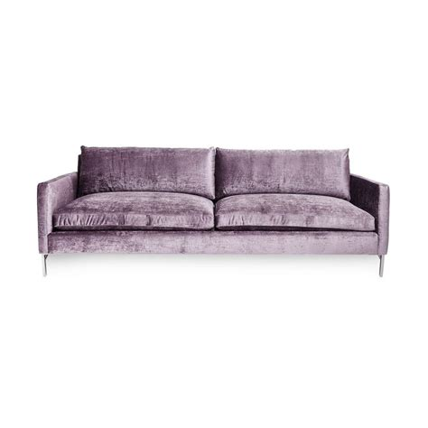 exclusively at abc the nolita sofa pairs the contemporary