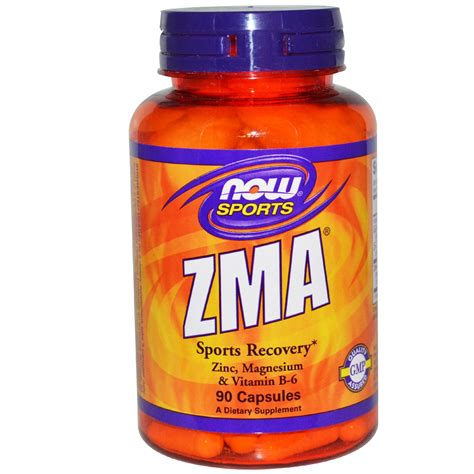 supplement zma now foods zma sports recovery 90 capsules iherb