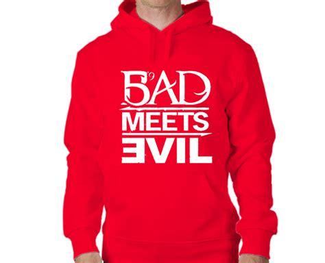 Jual Hoodie Eminem Bad Meets Evil 187 bad meets evil eminem hoodie
