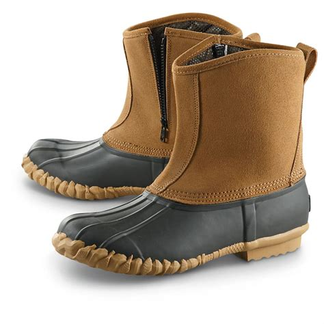 Zipped Bootie guide gear side zip insulated duck boots 618214 winter