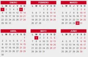 Calendario 2017 España Para Imprimir Calendario 2018 Con Feriados De Espa 241 A Calendario 2018