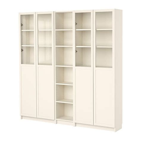 Billy Bookcases With Doors Billy Bookcase Combination With Doors Rooms Pinterest