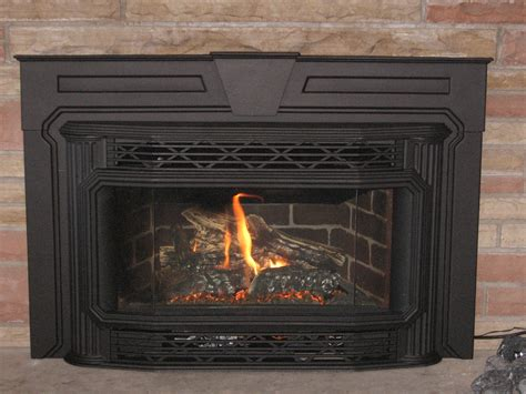 Replace Fireplace With Gas Insert replace gas fireplace with wood insert fireplaces
