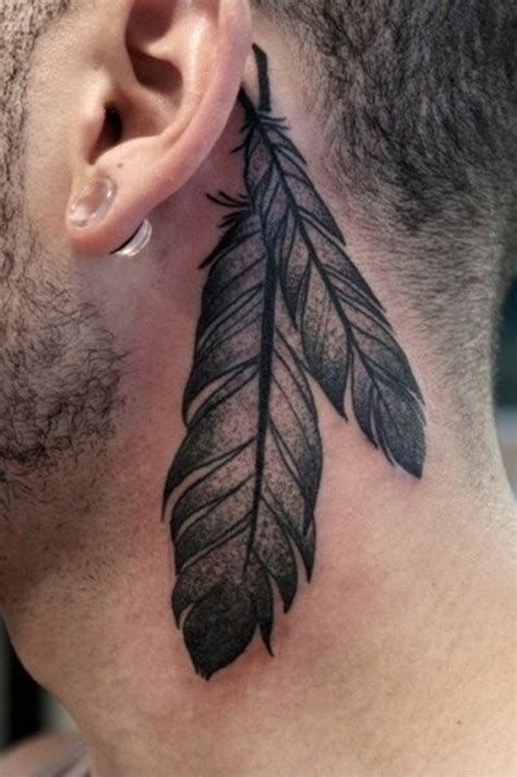 13 beautiful tribal feather tattoos only tribal