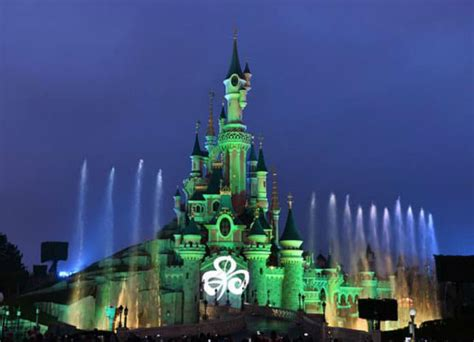 all the world is green landmarks around the world go green for st