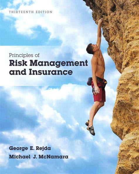 rejda mcnamara principles  risk management