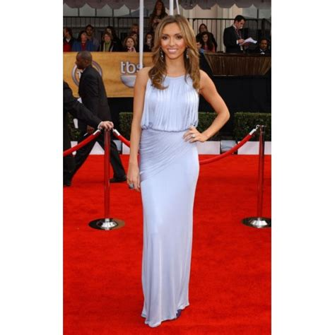 2008 Screen Actors Guild Awards The Carpet by Giuliana Rancic Lavender Formal Prom Dress 2008 Screen
