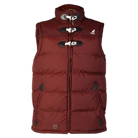Jaket Xl Premium 33 mens kangol k601253c designer toggle winter bodywarmer