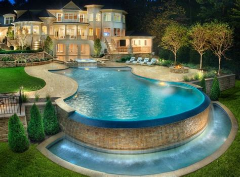 unique pool ideas gunite pools customize shape and size for a unique pool