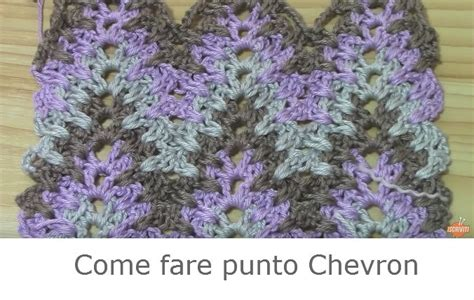 come fare i fiori a uncinetto come fare punto chevron a uncinetto tutorial