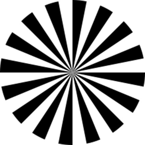 test pattern svg siemens star wikipedia