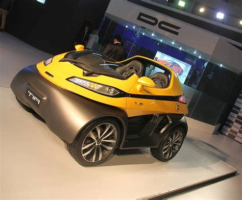 design dc dc design unveils tia city car and eleron suv at the auto expo