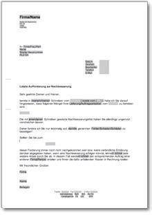 Rechnungskorrektur Muster Pdf aufforderung zur korrektur einer 252 berh 246 hten fehlerhaften
