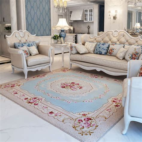 bedside rugs 130x190cm pastoral big carpet for living room modern brief bedroom bedside rugs and carpets sofa